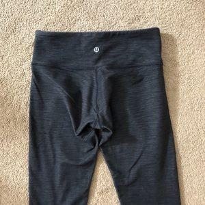Lululemon Leggings (dark charcoal, 4)